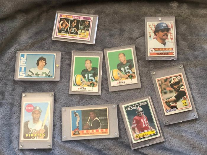 TOPPS - America sports - Trading card Legends of their sports
