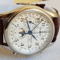 Longines - Master Collection - Automatic Chronograph - Moon Phase - Ref. L2.673.4 - Heren - 2011-heden