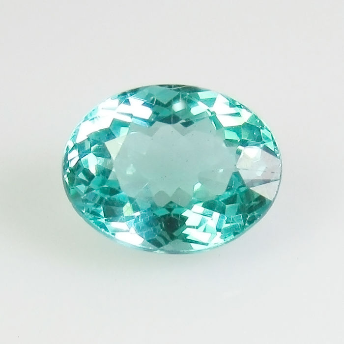 Blue, Green Apatite - 1.34 ct