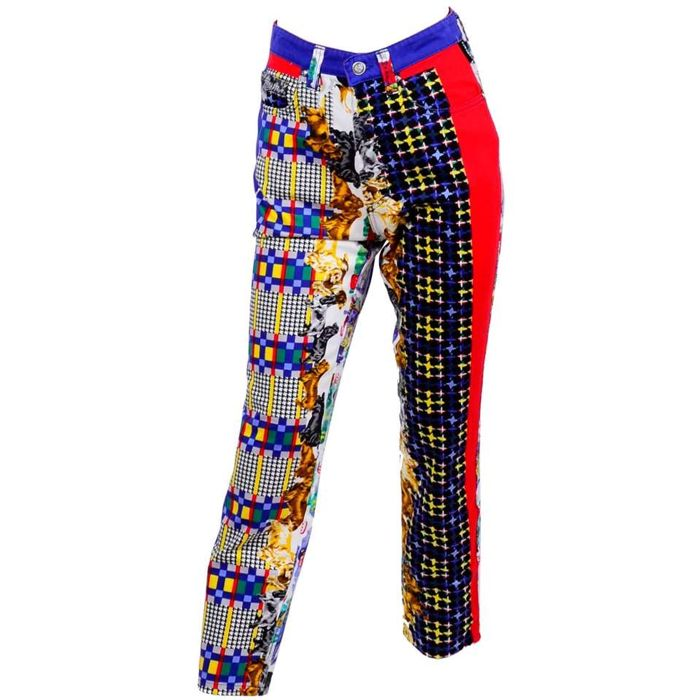 Versace - Iconic, luxury, rare, and vintage pants.
