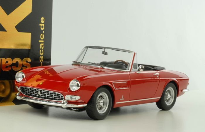 KK Scale - 1:18 - Ferrari 275 GTS Pininfarina Spyder - Limited Edition or 1.000 PCs.