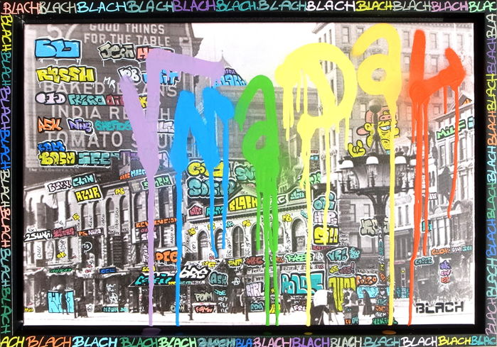 Maxime Blachere - Vandal is color: New York