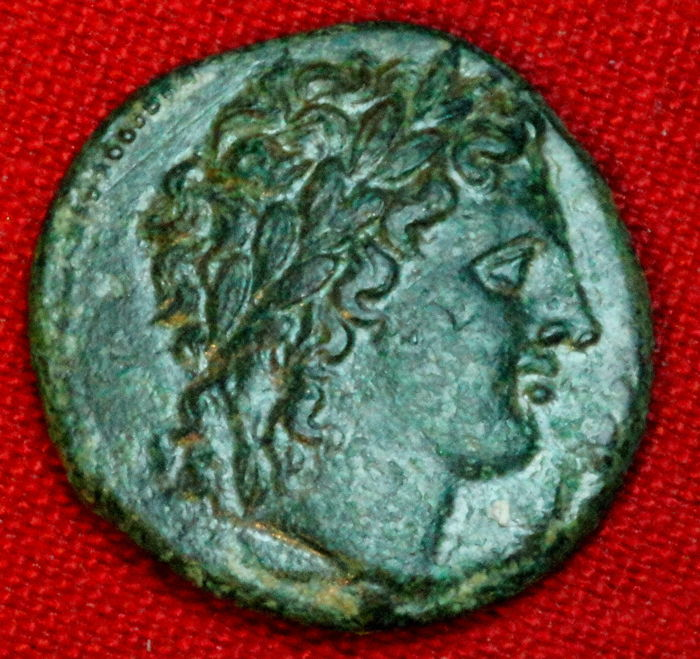 Greece (ancient) - Sicily, Syracuse. Æ, Hiketas. 287-278 BC