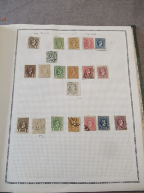Greece - Collection of stamps