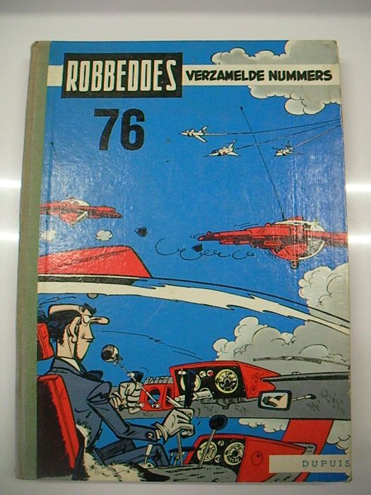 Robbedoes (magazine) - Robbedoes Album 76 - Hardcover - First edition - (1960)