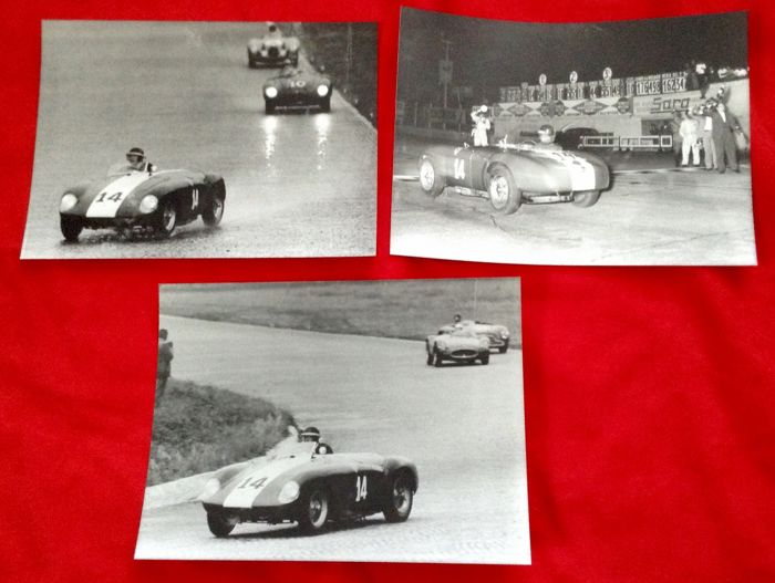 Picture - very rare Ferrari Sport Cars vintage photos Monza 53 54 other  - 1953-1965 (7 items)
