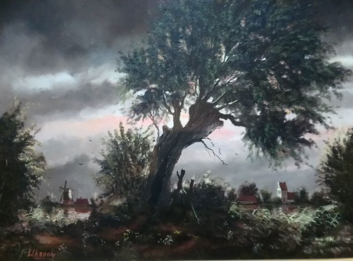 W(illem) Kroon (20e eeuw) - Fries Landschap