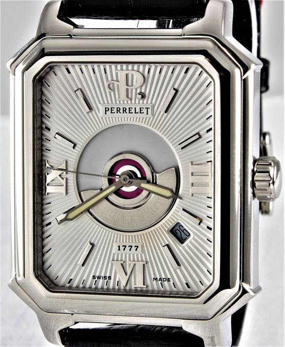 Perrelet - 1777 Rectangle Royale - Double Rotor - Limited Edition! - Swiss Exclusive Automatic - Perfect - Warranty - Men - 2000-2010