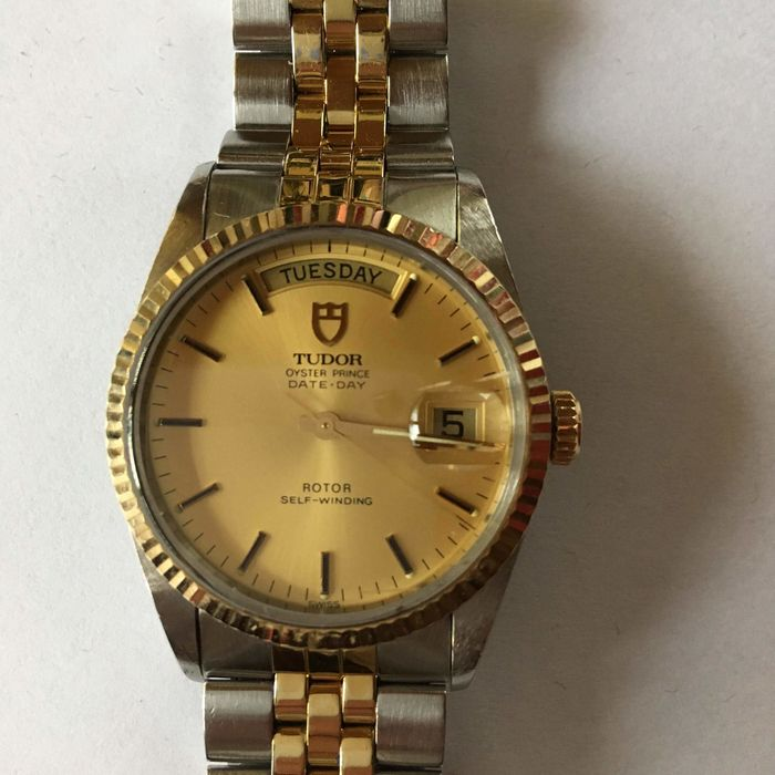 Tudor - date day oyster prince - 90037-94613 - Heren - 1970-1979