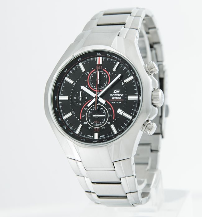 CASIO Edifice watch collection -  Edifice Chronograph Solar Powered Watch -  EFR-522D-1AVEF - Homem - 2011-presente