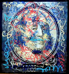 Moabit - Benjamin Franklin - For The Sake of Street Art