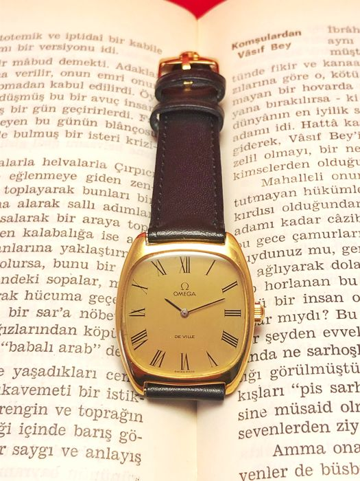 Omega - De Ville, Dress Watch Slim case (No Reserve Price) - Cal 625 - Men - 1980-1989