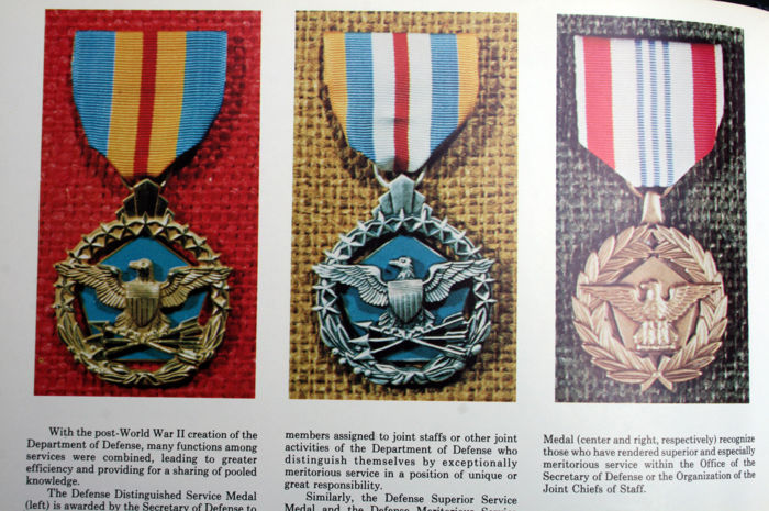 Reference book! Decorations, badges and service medals - of