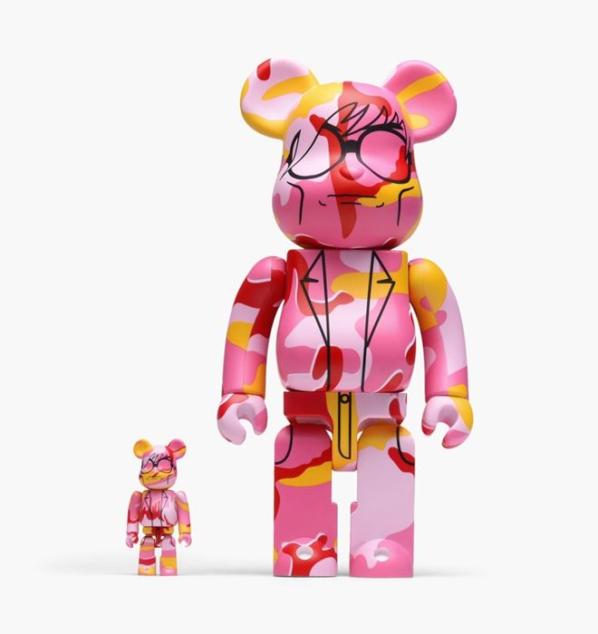Andy Warhol  - Medicom 100 % and 400% Bearbrick Figure