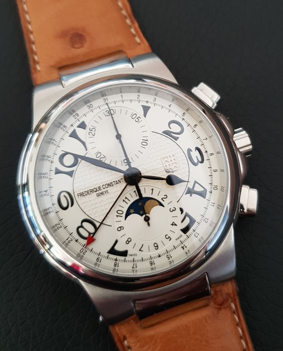 Frédérique Constant - Highlife Moonphase Chrono - NEW - FC395X4H5/6 - Heren - 2000-2010