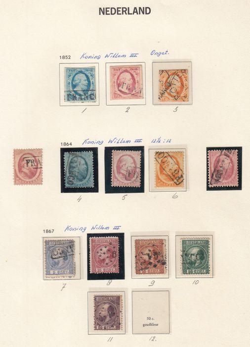 Niederlande 1852/1985 - Collection in DAVO albums
