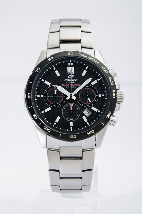 CASIO Edifice watch collection -  Edifice Chronograph Solar Powered Watch -  EFR-518SB-1AVEF - Homem - 2011-presente