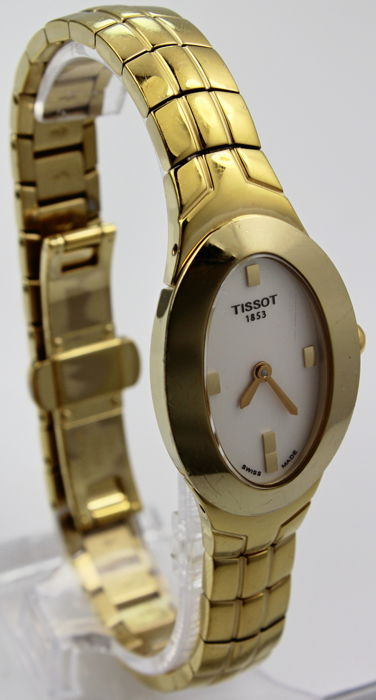 Tissot - Gold Plated 'NO RESERVE PRICE'  - Swiss Made Excellent Condition - Women - 2011-present