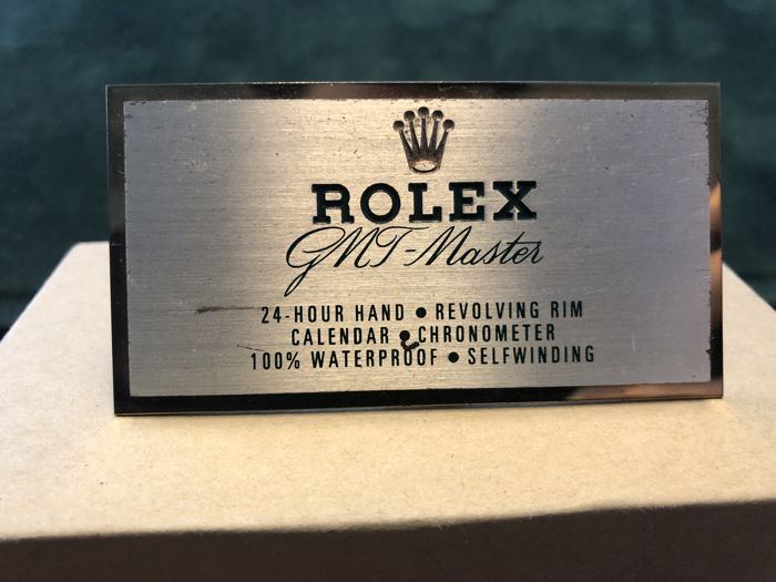 Rolex - GMT Master Dealer Sign - 460 - Unisex - 1980-1989
