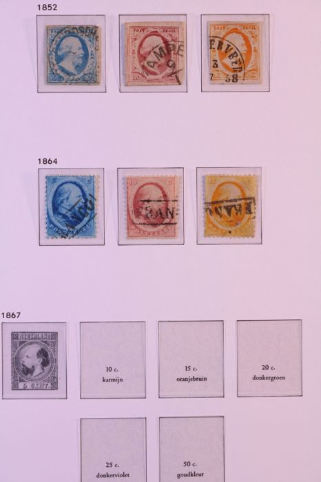 Holanda 1852/1944 - Collection in DAVO LX pre-printed album