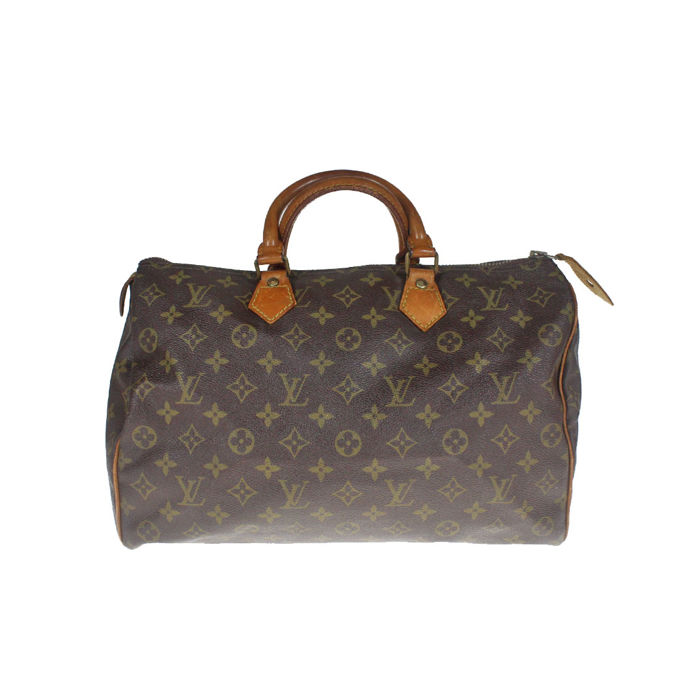 Louis Vuitton - Monogram Speedy 35 Borsa a mano