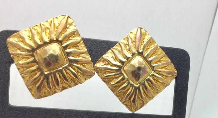 Jean Patou Gold-plated - Earrings