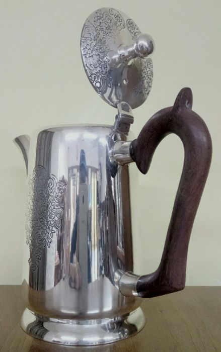 Coffee pot (1) - Silverplate - Italy - 1950-1999