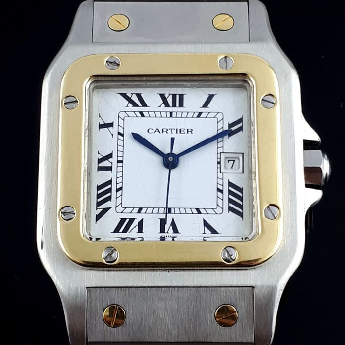 Cartier - Santos Galbee Gold / Steel Automatic  - Unisex - 2000 - 2010
