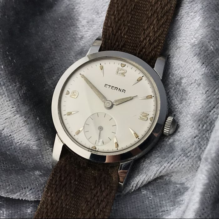 "Eterna - ""NO RESERVE PRICE"" - Cal. 1275 - Mænd - 1950s"