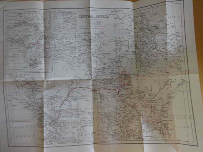 A J Wauters - Stanley's Emin Pasha expedition - 1890 for sale  London