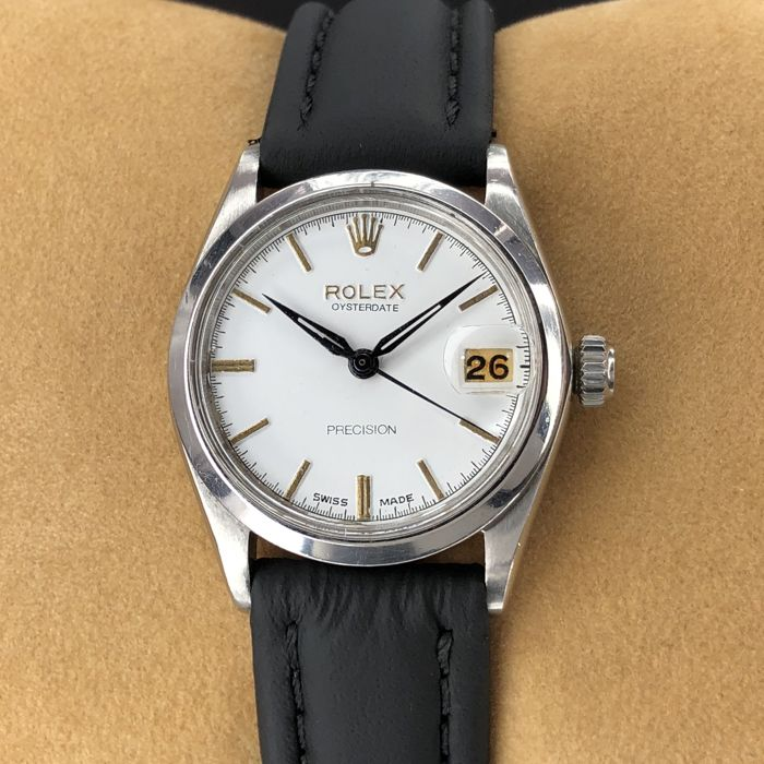 Rolex - Oyster Precision Date White Dial - 6466 - 中性 - 1960-1969