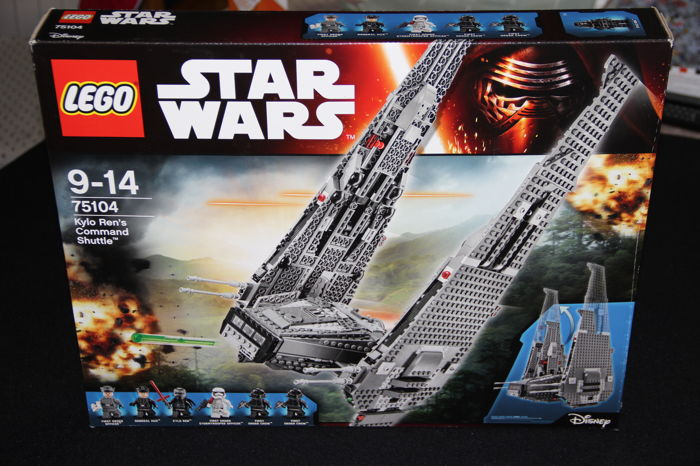 Lego Star Wars 75104 Spaceship Kylo Rens Command Shuttle