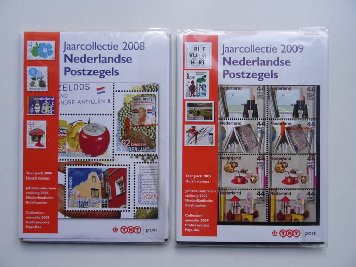 Paesi Bassi 2008/2009 - Two official year collections