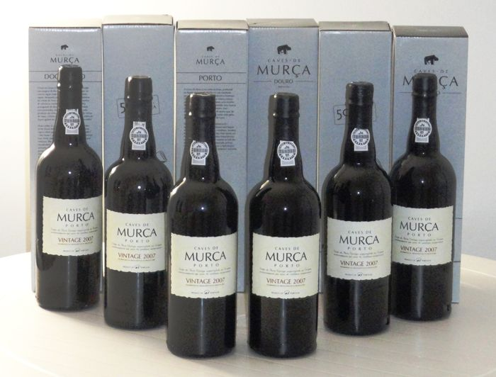 2007 Caves de Murça  Vintage Port - 6 Bottles (0.75L)