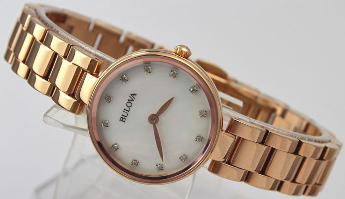 Bulova - 'NO RESERVE PRICE'  - Real Diamond Markers - Mujer - 2011 - actualidad