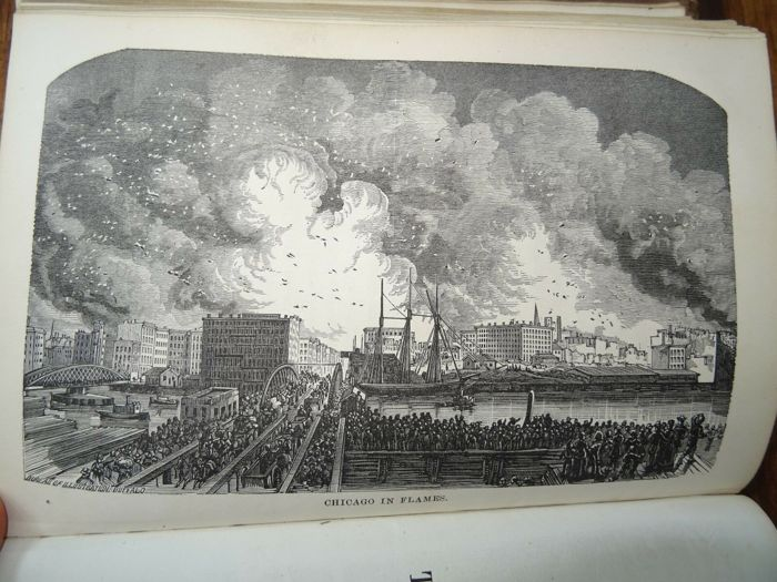 Colbert & Chamberlin/ Chapin & Gulick - Chicago and the great conflagration - 1872