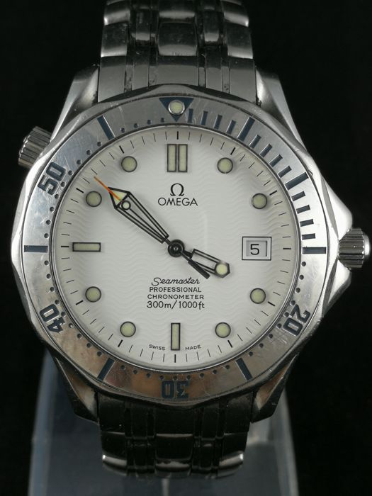 Omega - Seamaster 300M - White  - 2532.20.00 - Men - 2000-2010