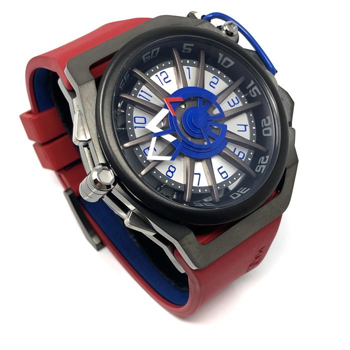 Mazzucato - RIM Reversible Automatic AND Quartz Chronograph Red GT  - 07-RD7685 - Homme - BRAND NEW
