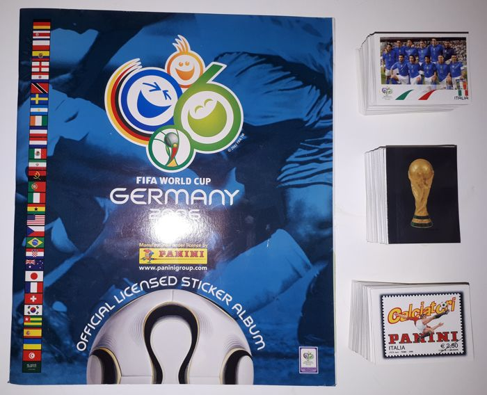 Panini - World Cup Germany 2006  - Complete set van 597 stickers + Leeg album