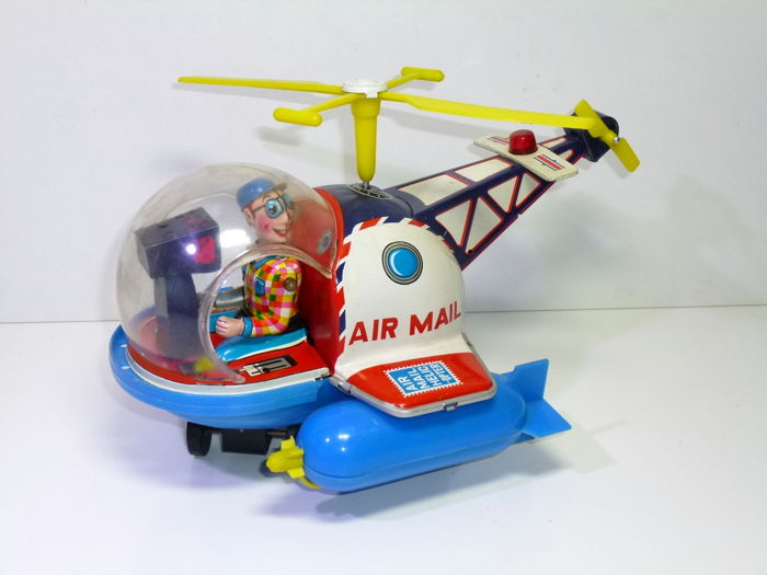 Yoshiya / KO-Toys - AIR-MAIL HELICOPTER b/o - 1960-1969 - Japan