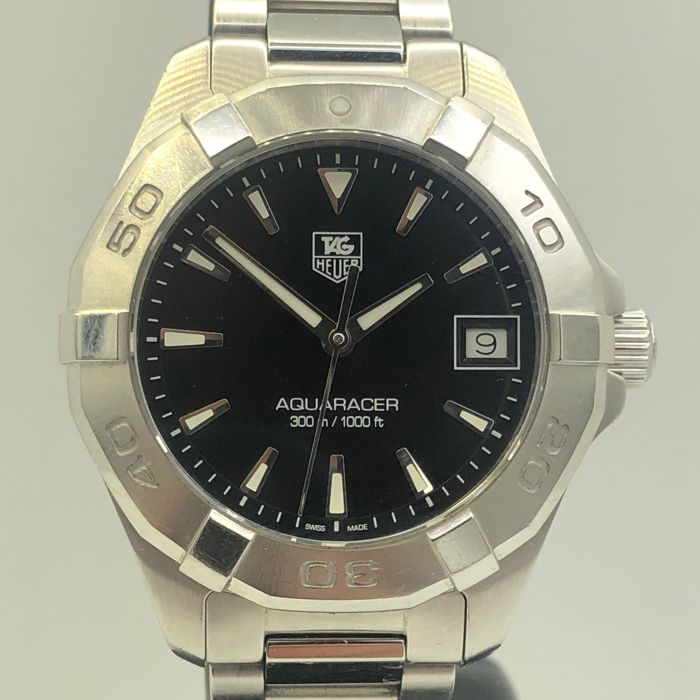 TAG Heuer - 'NO RESERVE PRICE' Aquaracer Black Dial Date - WAY1310 - Mujer - 2011 - actualidad