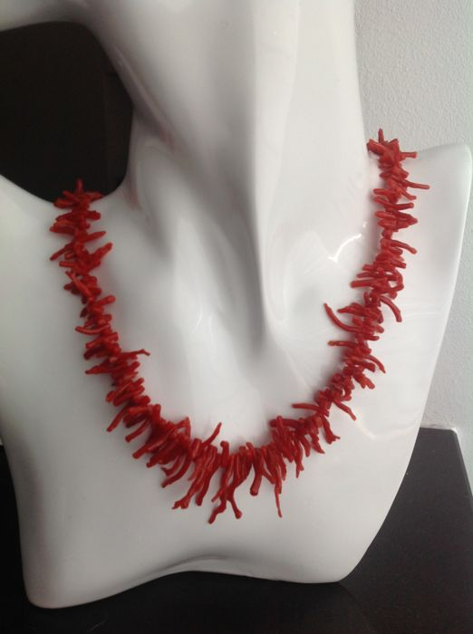 18 kt. Coral - Necklace