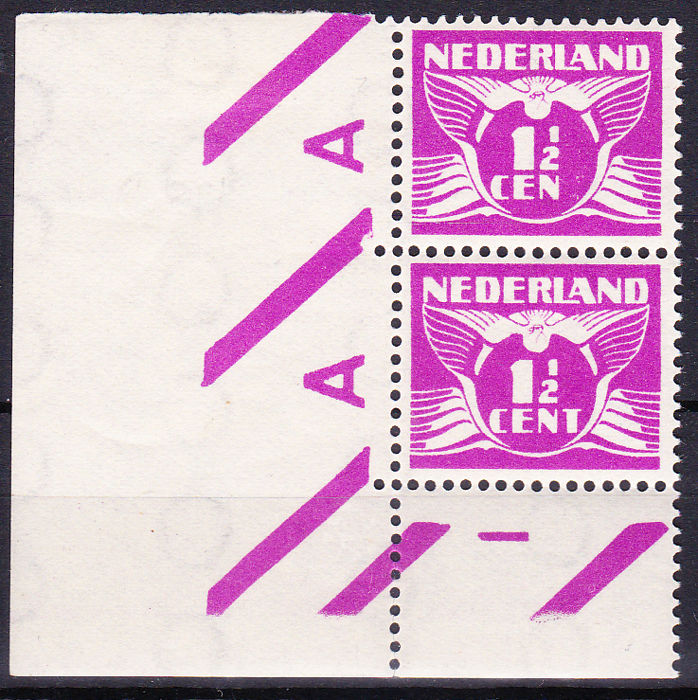 Hollandia 1926 - Flying dove, with variety 'CEN' instead of 'CENT' - NVPH 171Af