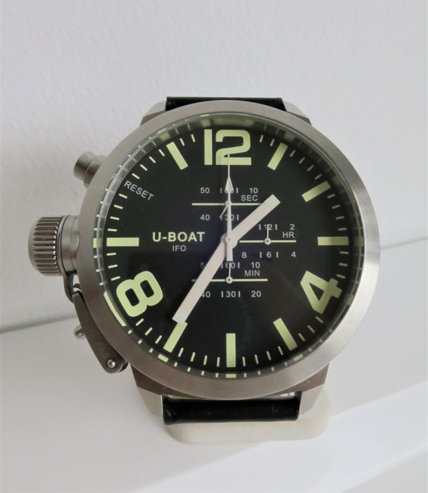 "U-Boat - Left Hook Limited Edition Chrono ""NO RESERVE PRICE"" -  A-0153 - Men - 2000-2010"