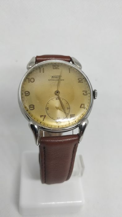 Tissot - Antimagnetique - fancy lugs - oversize - 6282-9 - 男士 - 1901-1949