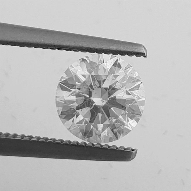 Diamant - 1.32 ct - Briljant - F - SI1