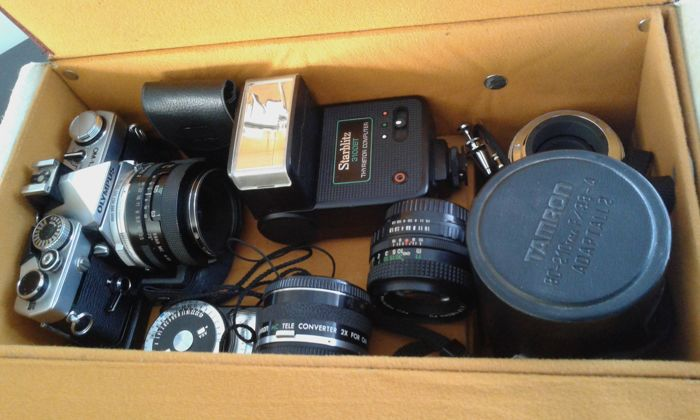 Olympus Om-1 (set) + 8 lenses (different mounts)