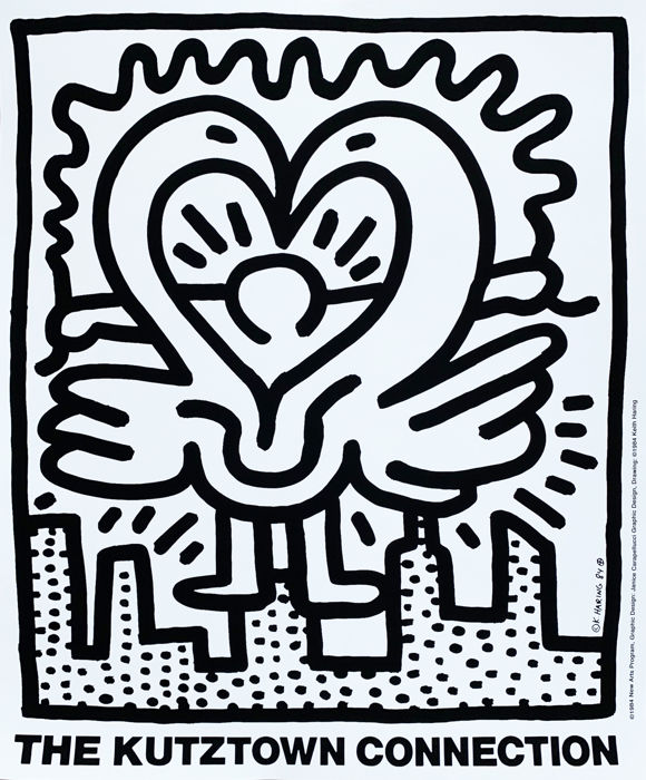 Keith Haring - The Kutztown Connection - 1984