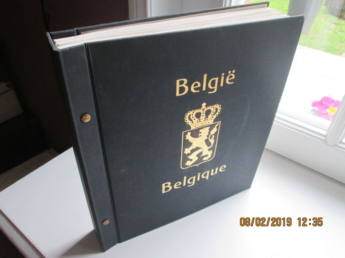 België 1897/1998 - Collection in a standard Davo album with pages 1990-1998