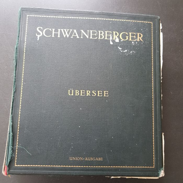 World 1860/1940 - Classic collections with many better issues in thick Schwaneberger album